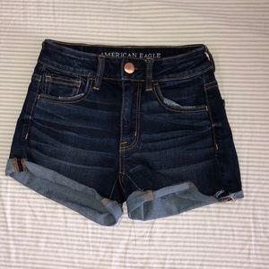 American eagle jean shorts 😍